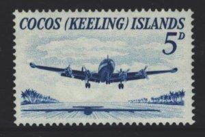 Cocos Islands Sc#2 MNH