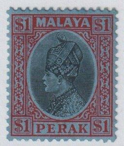 MALAYA PERAK 81  MINT HINGED OG *  NO FAULTS EXTRA FINE!