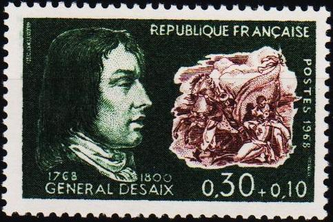 France. 1968 30c+10c S.G.1783 Unmounted Mint