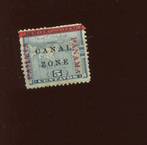 Canal Zone 12 'PAMANA' Reading Up Mint Stamp (CZ12 Bx 995)