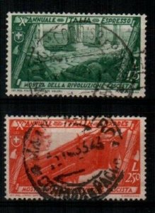 Italy Scott E16-17 Used [TE296]