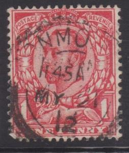 Great Britain Sc#154 Used