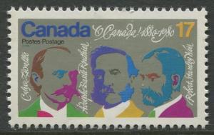 STAMP STATION PERTH Canada #858 O Canada Centenary Issue 1980 MNH CV$0.25