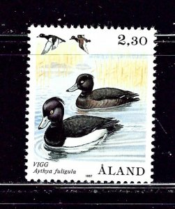 Finland-Aland 16 MNH 1987 Ducks