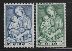 IRELAND, 151-152, MNH,MADONNA AND CHILD