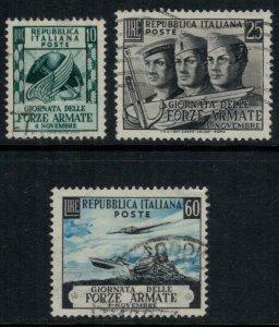 Italy #613-5  CV $7.00