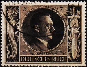 Germany. 1943 3pf+7pf S.G.832. Fine Used