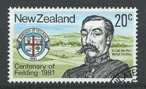 New Zealand SG 1237 FU Philatelic Bureau Cancel