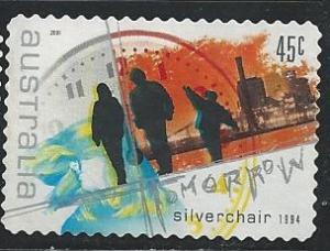 Australia 1946 45c Tomorrow 2001 used