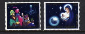 Christmas Island #91-92 Mint MNH Unused 1979 Religious Topicals