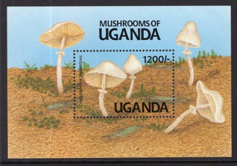 Uganda MNH S/S 947 Mushrooms Fungi 1991