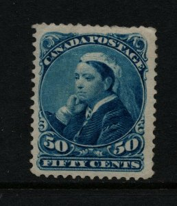 Canada #47i Very Fine Mint Original Gum Hinged Major Reentry *With Certificate*