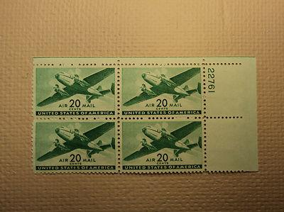 USPS Scott C29 20c Air Mail Transport Plane 1941 Mint NH ...