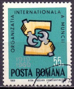 Romania. 1969. 2763. Unions. USED.