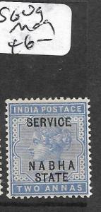 INDIA CHAMBA  (P2809B)  QV 2A SERVICE SG O9  MOG