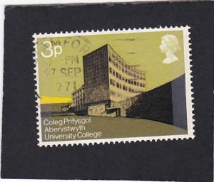 Great Britain # 657 used