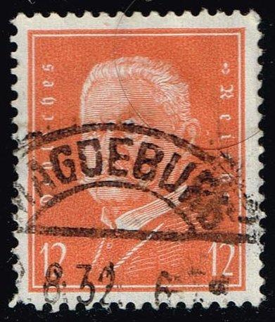 Germany #373 Paul von Hindenburg; Used (0.70)