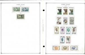 Argentina 1941=1990 M, CTO & U Hinged on Scott International Pages thru 1999