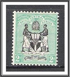British Central Africa #22 Coat of Arms MHR
