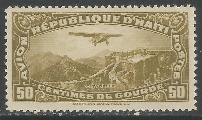 HAITI C6 MNH AIRPLANE T038