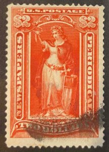 US Stamps #PR120 Used Newspaper #PR120A133