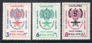 Saudi Arabia 282-284 Unused Mint Hinged BIN