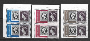 Luxembourg C18-20 MNH cpl set in pairs, f-vf, see desc. 2018 CV $200.00