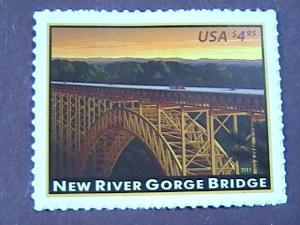 U.S.# 4511-MINT/NEVER HINGED--AMERICAN LANDMARKS/NEW RIVER GORGE BRIDGE-2011