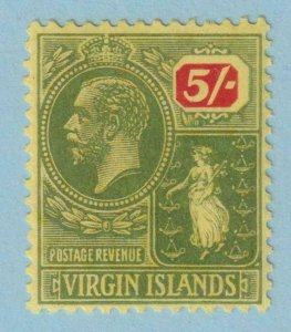 BRITISH VIRGIN ISLANDS 66  MINT LIGHTLY HINGED OG * NO FAULTS EXTRA FINE!
