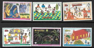 ANGUILLA SG338/43 1979 YEAR OF THE CHILD  MNH