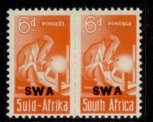 SOUTH WEST AFRICA GVI SG128, 6d red-orange, M MINT.