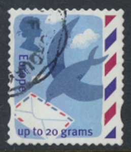 GB   Europe  Overseas  up to 20g  Used  Bird carrying Letter  see scan