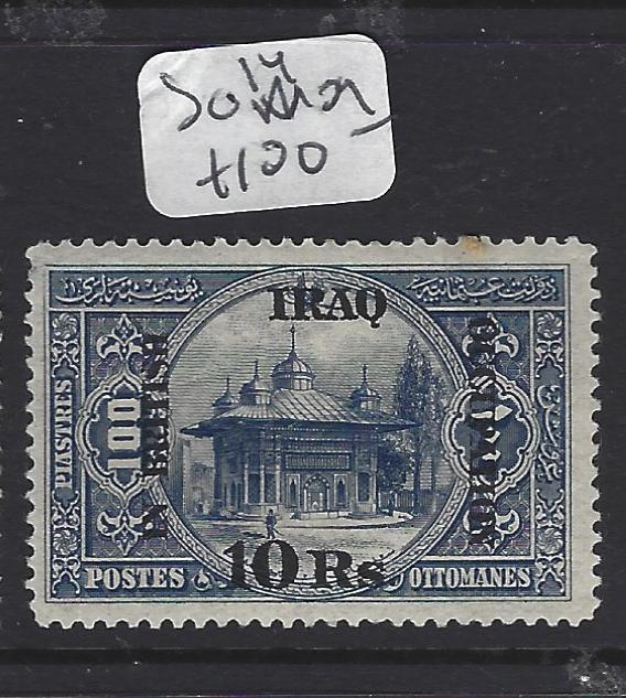 IRAQ (P0908B)    BRITISH OCCUPATION 10R  SG 14  MOG