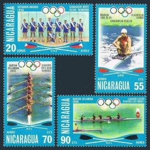 Nicaragua C902-C905,MNH.Mi 1954-1957. Olympics Montreal-1976.Rowing winners.