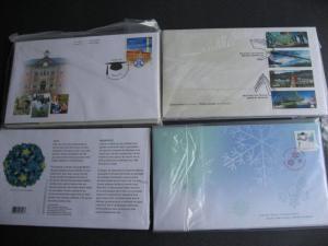 CANADA 2005 FDC year set still sealed in quarterly packs! PLZ read description!