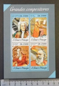 St Thomas 2013 great composers classical music bach liszt schubert brahms m/s