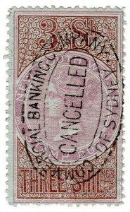 (I.B) Australia - NSW Revenue : Stamp Duty 3/-
