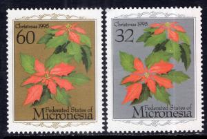 Micronesia 234-235 Christmas MNH VF