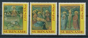 [I1323] Suriname 1992 Religion good set if stamps very fine MNH