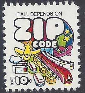 #1511 10c Zip Code 1974 Mint NH