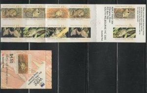 Australia #1246b (1992 Threatened Species  Booklet) VFMNH CV $10.00