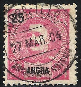 Angra 1897-1905 Scott # 21 Used