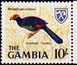 Gambia. 1966 10s S.G.244 Unmounted Mint
