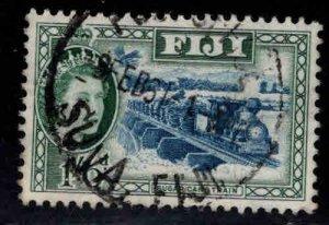 FIJI Scott 157 Used QE2 stamp