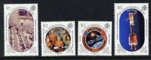 Seychelles - Zil Elwannyen Sesel 154-8 MNH Moon Landing, Rocket, Ship