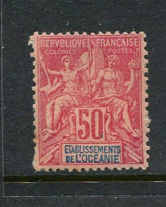 French Polynesia #19 mint