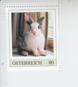 2018 Austria Rabbit Pets (Scott NA) MNH