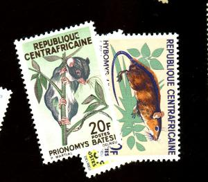 Central Africa Rep #73-5 MINT VF NH Cat $4