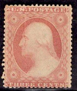 US Stamp #26 MINT NH SCV $65.00++