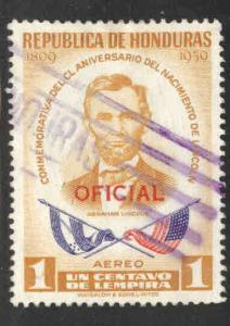 Honduras  Scott Co98 Used airmail stamp